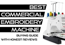 best commercial embroidery machine
