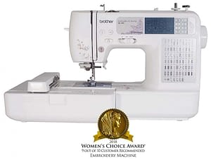Brother SE 400 Embroidery Machine